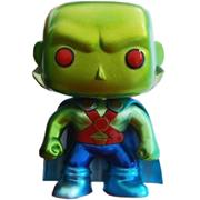 Funko Pop! Heroes Martian Manhunter (Metallic)