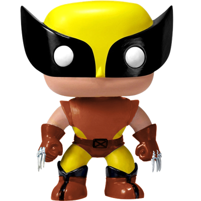 Funko Pop! Marvel Wolverine (Brown)