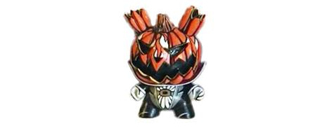 Kid Robot Special Edition Dunny Headless Horseman Prototype
