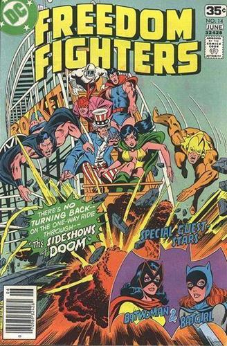 DC Comics Freedom Fighters (1976) Freedom Fighters (1976) #14 Stock