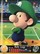 Amiibo Cards Mario Sports Superstars Baby Luigi - Tennis