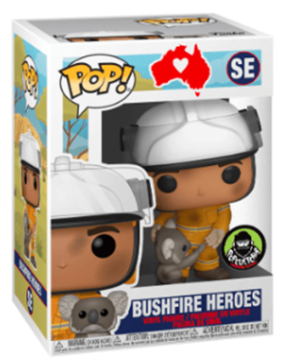 Funko Pop! Other Bushfire Heroes Stock Thumb