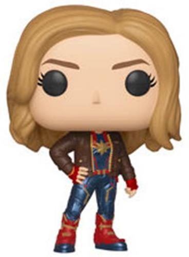 Funko Pop! Marvel Captain Marvel (w/ Jacket)
