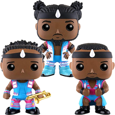 Funko Pop! Wrestling Big E, Xavier Woods & Kofi Kingston (New Day) (3-Pack)