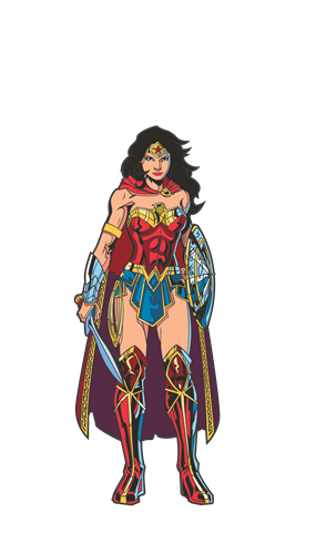 FiGPin DC Comics: Rebirth Wonder Woman