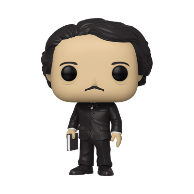 Funko Pop! Icons Edgar Allen Poe (Book)