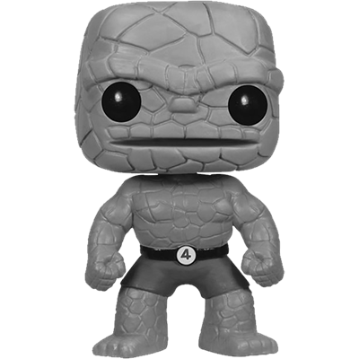 Funko Pop! Marvel The Thing (Black & White)