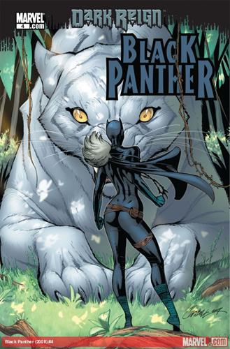 Marvel Comics Black Panther (2008 - 2010) Black Panther (2008) #4 Icon