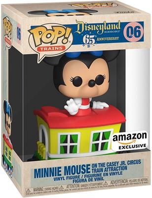 Funko Pop! Disney Minnie in Caboose Car Stock Thumb