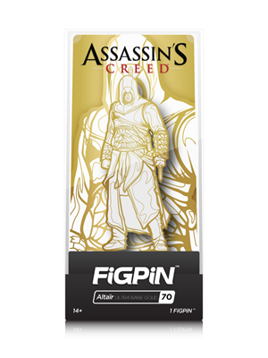 FiGPin Assassin's Creed Altaïr Ultra Rare Stock