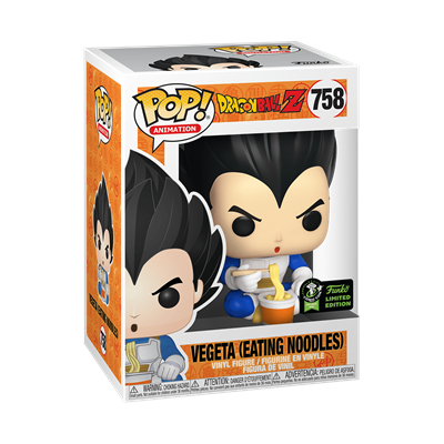Funko Pop! Animation Vegeta (Eating Noodles) Stock