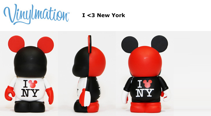 Vinylmation Open And Misc City I Heart New York
