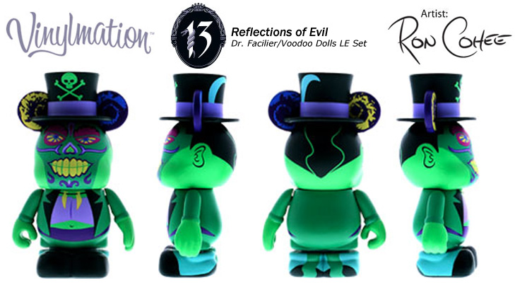 Vinylmation Open And Misc 13 Reflections of Evil Dr. Facilier