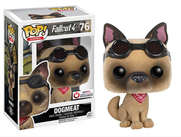 Funko Pop! Games Dogmeat (Flocked) Stock Thumb
