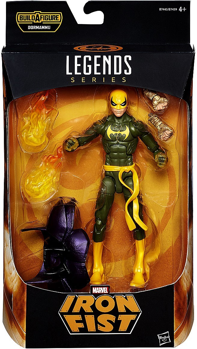 Marvel Legends Dormammu Series Iron Fist