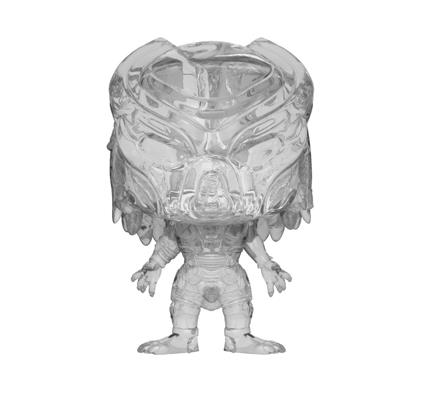 Funko Pop! Movies Predator Fugitive - Invisible / Clear Icon