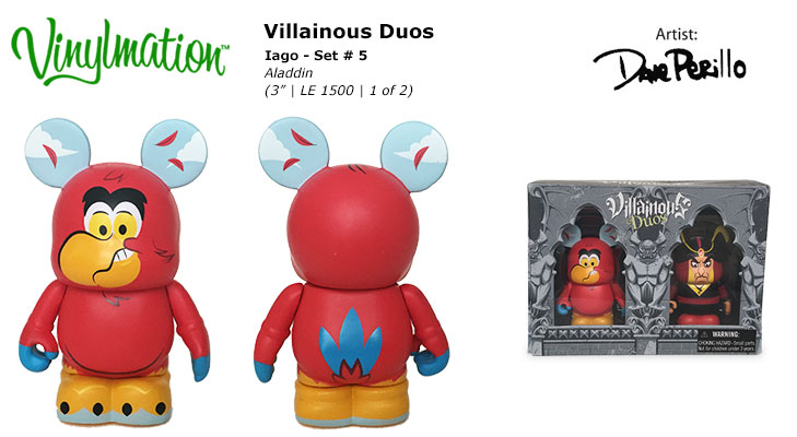 Vinylmation Open And Misc Villainous Duos 5 Iago
