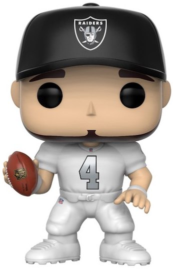 Funko Pop! Football Derek Carr (Alternate Uniform)