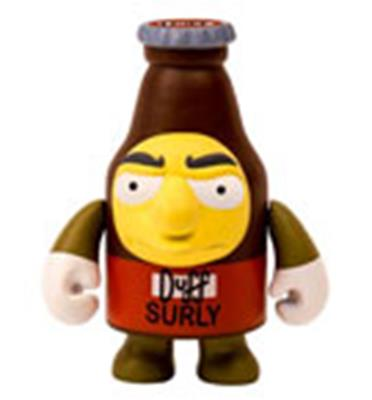 Kid Robot Simpsons x Kidrobot Surly Duff