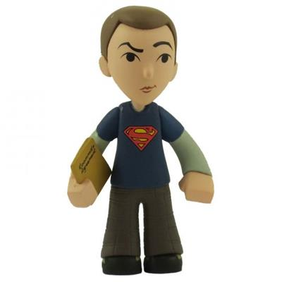 Mystery Minis Big Bang Theory Blue Superman Sheldon  Stock