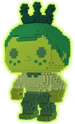Funko Pop! Freddy Funko 8-BIT (Green) - Glow
