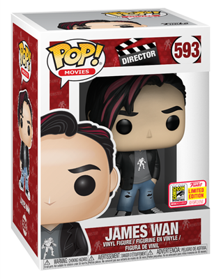 Funko Pop! Movies James Wan  Stock