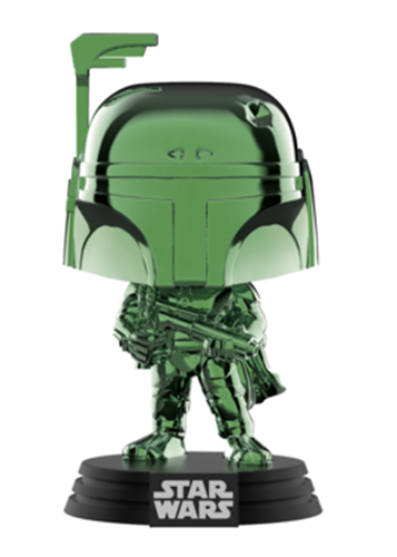 Funko Pop! Star Wars Boba Fett (Green Chrome)