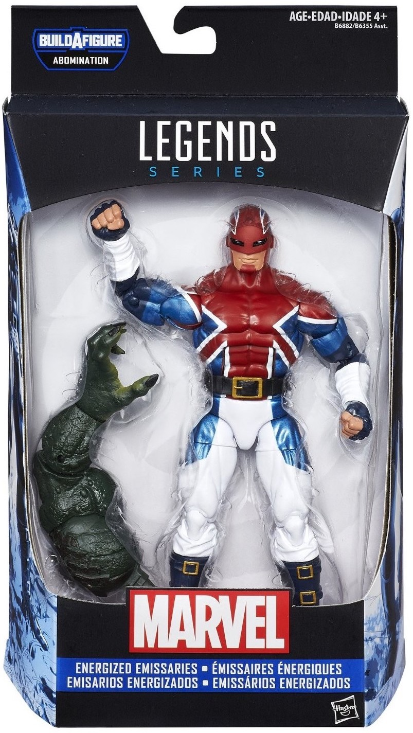 Marvel Legends Abomination Series Captain Britain