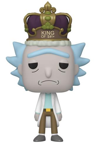 Funko Pop! Animation Rick with Crown