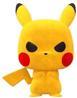 Funko Pop! Games Pikachu (Flocked)