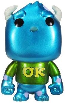 Funko Pop! Disney Sulley (University) - Metallic
