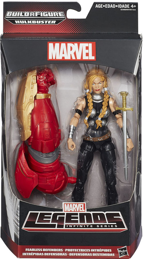 Marvel Legends Hulkbuster (Infinite Series) Valkyrie