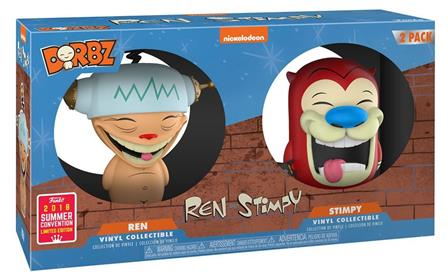 Dorbz Nickelodeon Ren & Stimpy (Happy Happy Joy Joy) Stock Thumb