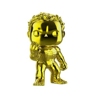 Funko Pop! Marvel Hulk Chrome (Yellow)
