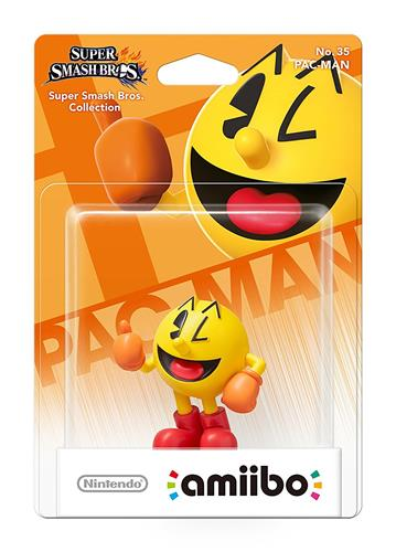 Amiibo Super Smash Bros. Pac-Man Stock