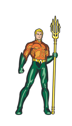 FiGPin DC Comics: Justice League Aqua Man