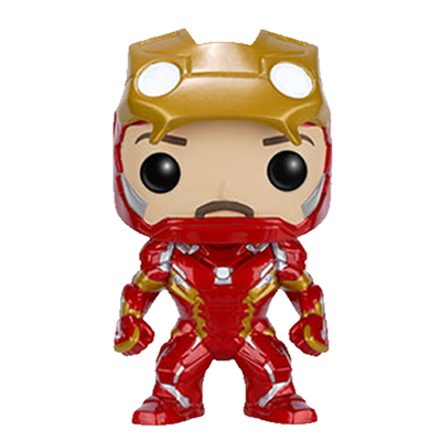 Funko Pop! Marvel Iron Man (Civil War) (Unmasked) Icon