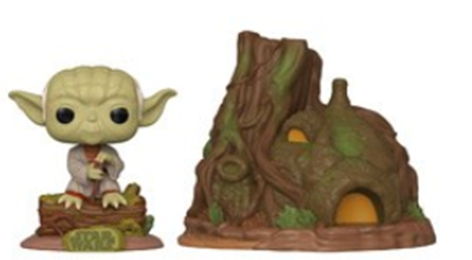 Funko Pop! Star Wars Dagobah Yoda with Hut