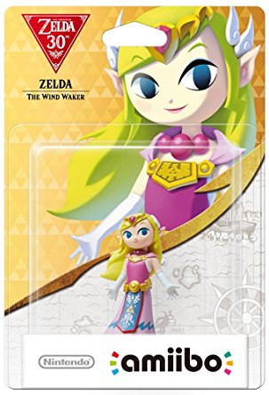 Amiibo The Legend of Zelda Zelda (Wind Waker) Stock
