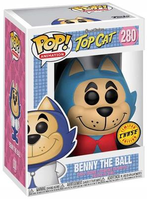 Funko Pop! Animation Benny the Ball (Blue) - CHASE Stock