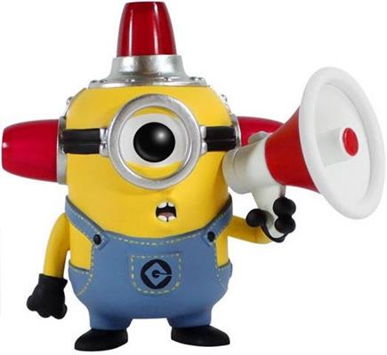 Funko Pop! Movies Minion (Fire Alarm) Icon Thumb
