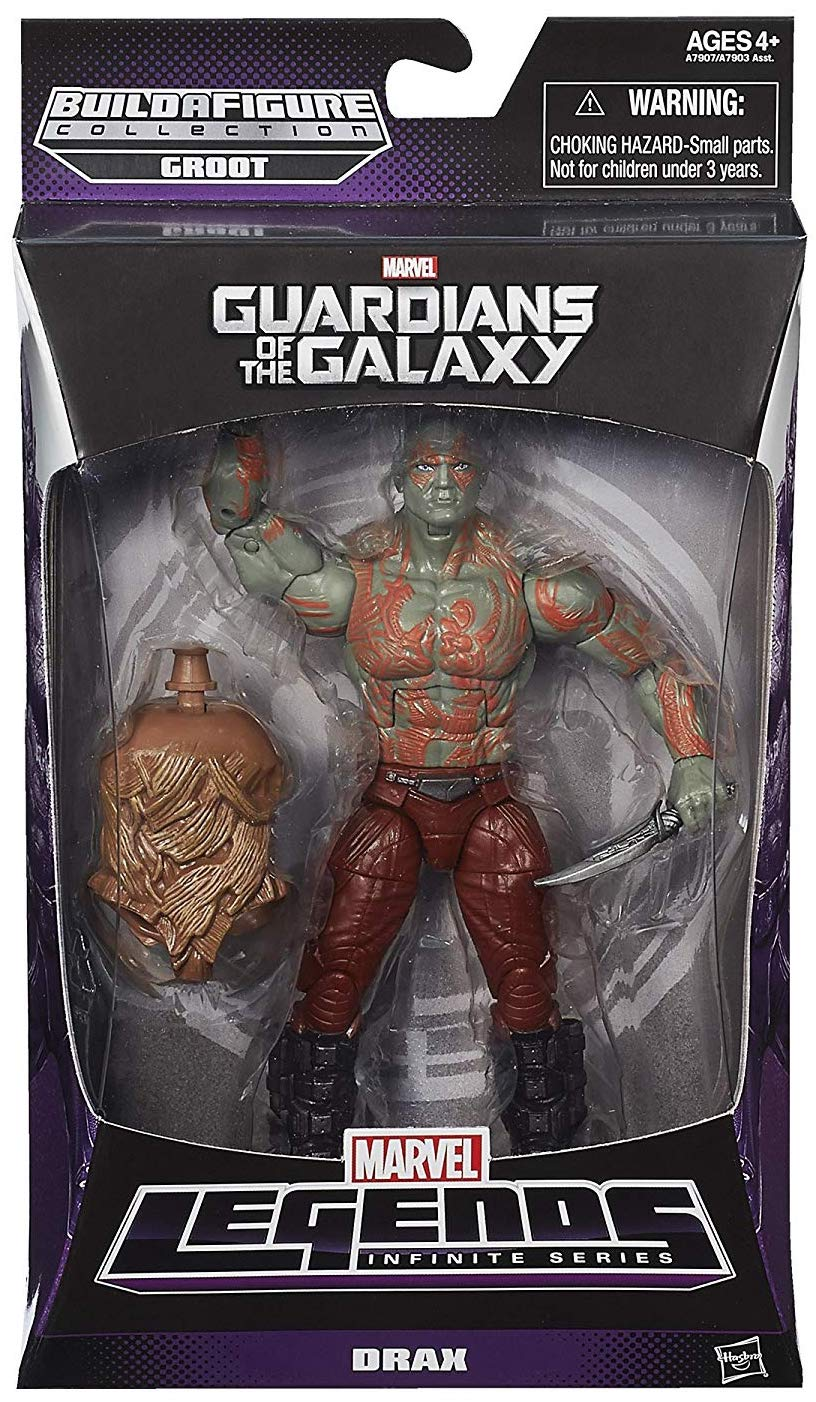 Marvel Legends Groot Series Drax