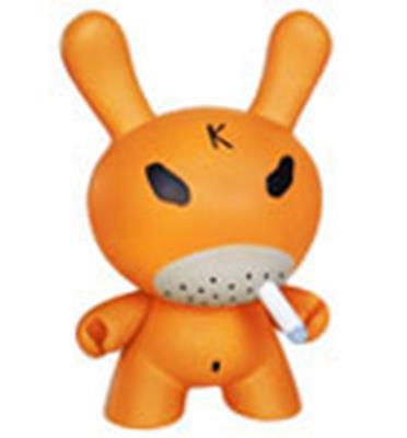 "Kid Robot 8"" Dunnys Orange Hate"