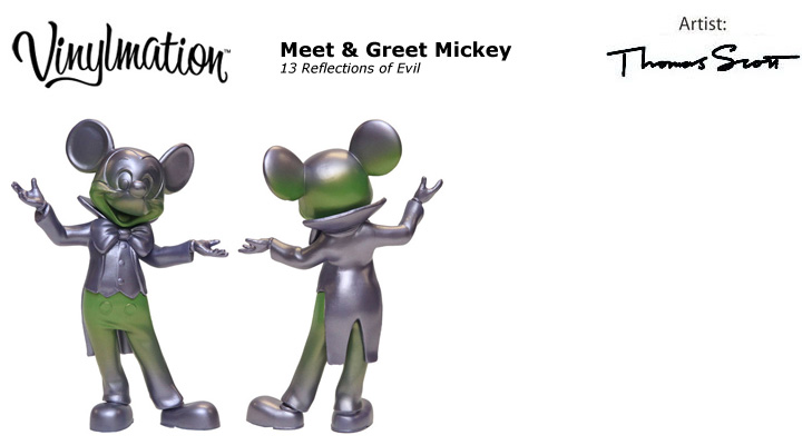 Vinylmation Open And Misc Meet & Greet Mickey 13 Reflections of Evil