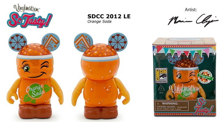 Vinylmation Open And Misc So Tasty Orange Soda
