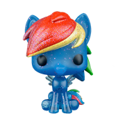 Funko Pop! My Little Pony Rainbow Dash (Glitter)