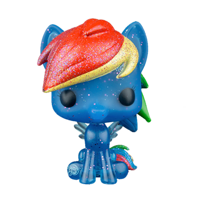 Funko Pop! My Little Pony Rainbow Dash (Glitter) Icon