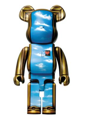 Be@rbrick Love is Big, Love is Be@rbrick Moschino 1000%