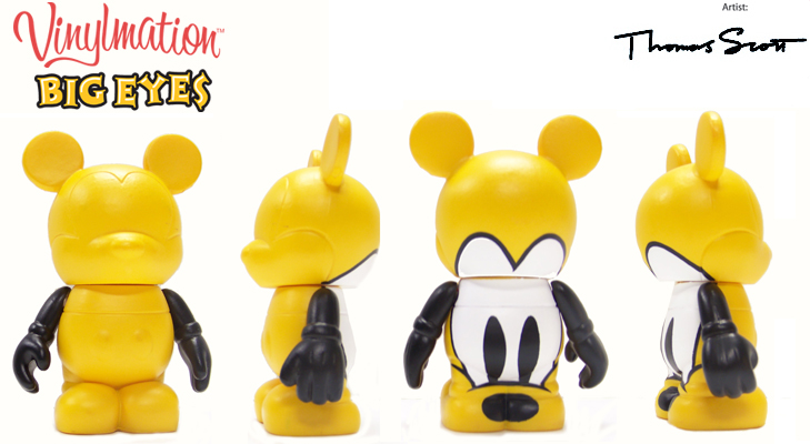 Vinylmation Open And Misc Big Eyes Pluto
