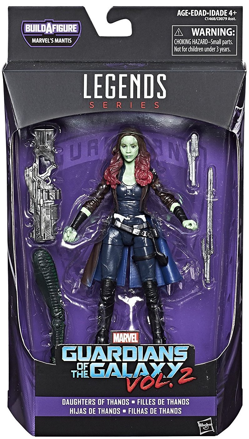 Marvel Legends Mantis Series Gamora